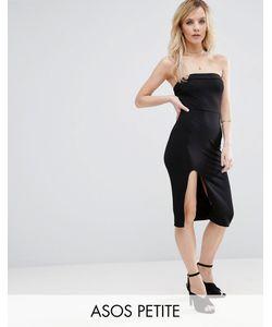 ASOS PETITE | Облегающее Платье Миди Без Бретелек