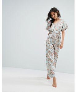 New Look | Пижамный Комбинезон С Цветочным Принтом