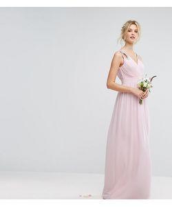 TFNC Tall   Декорированное Платье Макси С Запахом Wedding