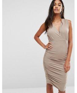 SuperTrash | Присборенное Платье Без Рукавов Day