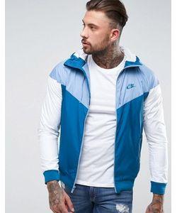 Nike | Синяя Ветровка 727324-460