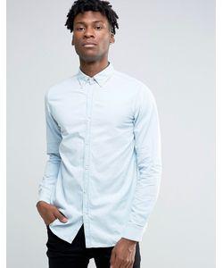 Selected Homme | Светлая Рубашка Из Шамбре Синий