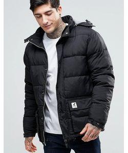 Fat Moose | Стеганая Куртка Со Съемным Капюшоном Urban Heat Черный