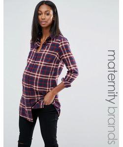 Noppies Maternity | Рубашка В Клетку Для Беременных Noppies Мульти
