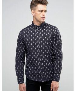 Blend | Рубашка Узкого Кроя Brush Stroke