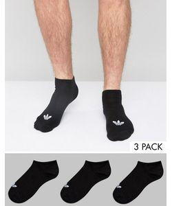 adidas Originals | Набор Из 3 Пар Черных Носков S20274