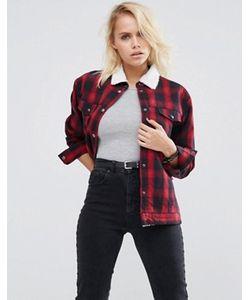Asos | Куртка На Меховой Подкладке Premium