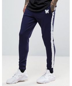 Good For Nothing | Skinny Fit Joggers In Navy