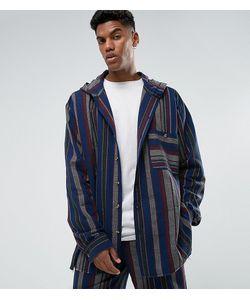 Reclaimed Vintage | Свободная Рубашка В Полоску С Капюшоном Inspired