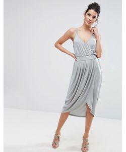 Vero Moda   Платье На Бретельках С Запахом