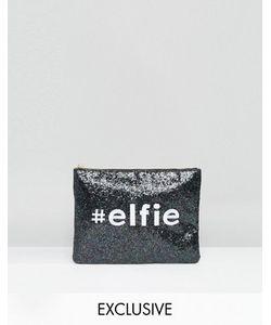 VALERY | Эксклюзивный Блестящий Клатч С Новогодним Дизайном Elfie