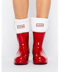Hunter   Short Garter Cuff Short Boot Sock