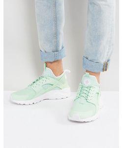 Nike | Зеленые Кроссовки Huarache Run Ultra 819685-302