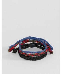 Asos | Набор Плетеных Браслетов