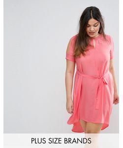Lovedrobe | Свободное Платье С Вырезами На Плечах