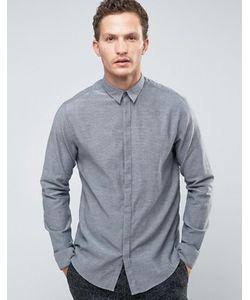 Selected Homme | Рубашка Узкого Кроя С Длинными Рукавами