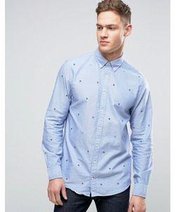 Tommy Hilfiger | Рубашка Классического Кроя На Пуговицах С Вышивкой