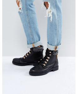 New Look | Черные Походные Ботинки