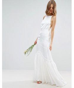 Asos | Платье Макси На Бретельках Bridal