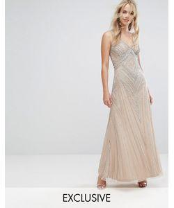 Amelia Rose   Декорированное Платье Макси