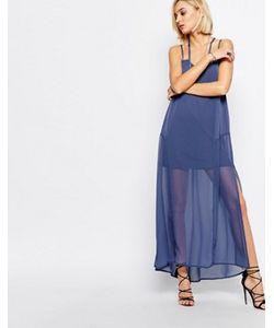 Religion | Голубое Платье Макси Merge
