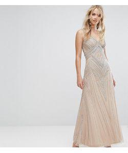 Amelia Rose | Декорированное Платье Макси