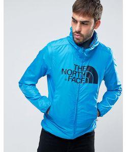 The North Face   Синяя Куртка С Капюшоном И Логотипом