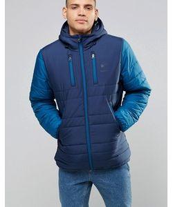 Reebok | Синяя Дутая Куртка Ay1251