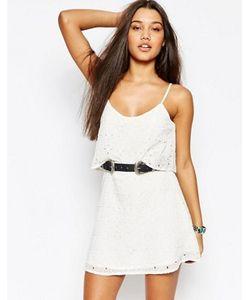 Abercrombie and Fitch | Платье С Кружевным Верхним Слоем Abercrombie Fitch
