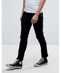 Nudie Jeans Co | Черные Джинсы Tilted Tor
