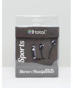 Gifts | Черные Наушники С Микрофоном Spiral