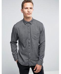 Selected Homme | Фланелевая Рубашка Классического Кроя