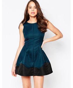 AX Paris | Короткое Приталенное Платье С Отделкой По Краю