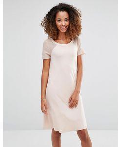 Vero Moda | Свободное Платье С Сетчатыми Рукавами В Горошек