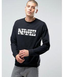 Nike | Черный Свитшот С Круглым Вырезом Nk Court 810149-010 Черный