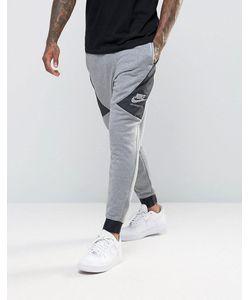 Nike | Серые Спортивные Штаны Зауженного Кроя International 802375-091 Серый