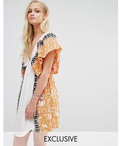 Akasa | Пляжное Платье Мульти