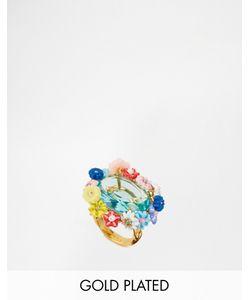 Les Nereides | Кольцо С Цветочныйм Дизаном