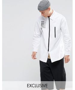 Vision Air | Longline Overshirt Белый