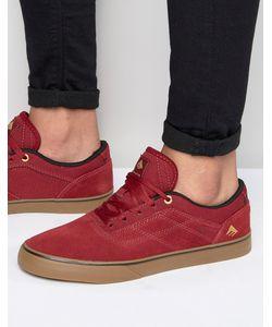 Emerica | Кроссовки Herman G6 Vulc Красный