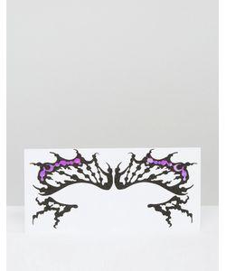 Facelace | Декоративные Наклейки Для Век В Виде Бабочки Face Lace Halloween