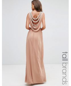 TFNC Tall | Платье Макси С Драпировкой Wedding