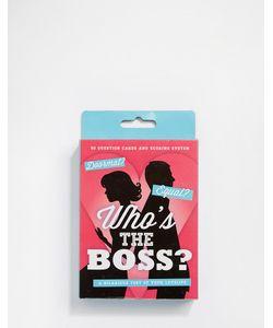 50FIFTY | Игра-Викторина Whos The Boss Мульти