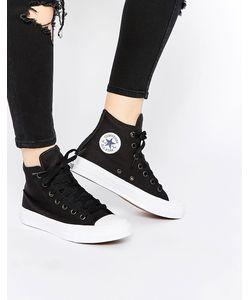 Converse | Высокие Черные Кроссовки Chuck Taylor Ii Черный