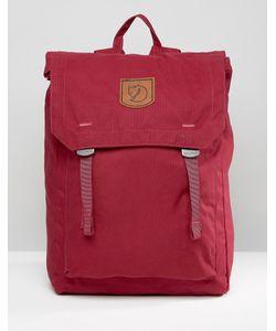Fjallraven | Бордовый Рюкзак Foldsack 16l Красный