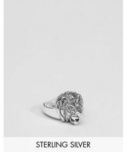 Asos | Серебряное Кольцо Со Львом Серебряный