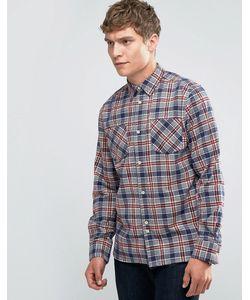 Bellfield | Рубашка В Клетку С Двумя Карманами