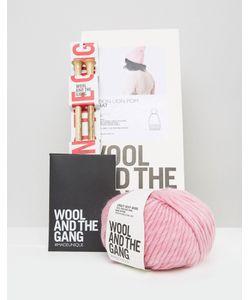 WOOL AND THE GANG | Набор Для Вязания Шапки С Помпоном Wool The Gang Diy