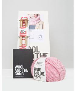 WOOL AND THE GANG | Набор Для Вязания Шарфа-Снуд Wool The Gang Diy Lil