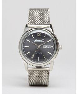 Ingersoll | Серебристые Часы С Сетчатым Ремешком New Haven Automatic Серебряный